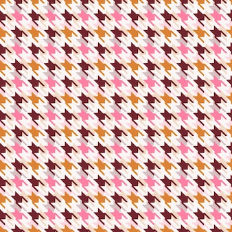 Houndstooth 벡터 완벽 한 패턴입니다.