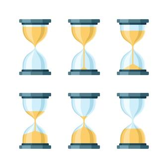 Современный набор «песочные часы».