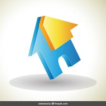 ハウス3dロゴ
