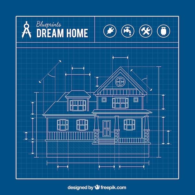 House Blueprint 48,055 240 3 Years Ago. Architecture Background Design
