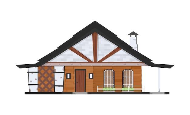白で隔離の家の漫画