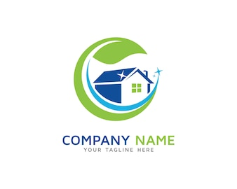 House Cleaning Logo Design