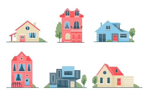 집 컬렉션 일러스트 컨셉