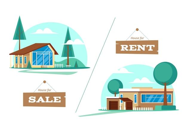 販売および賃貸住宅