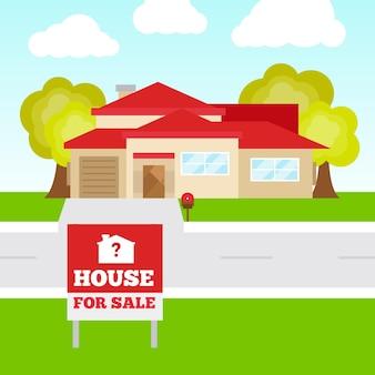 판매 평면 디자인 일러스트 집
