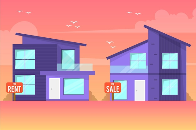 판매용 / 임대용 주택