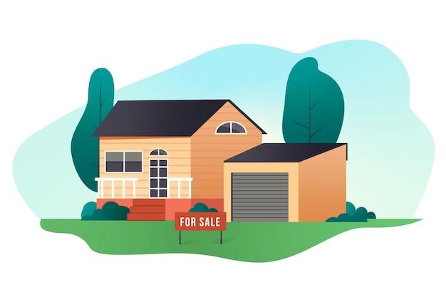 売り家/賃貸住宅