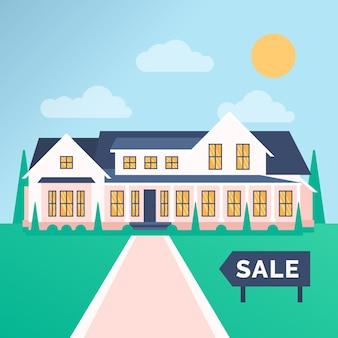 판매를위한 집
