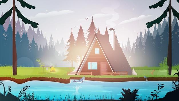 숲속의 집