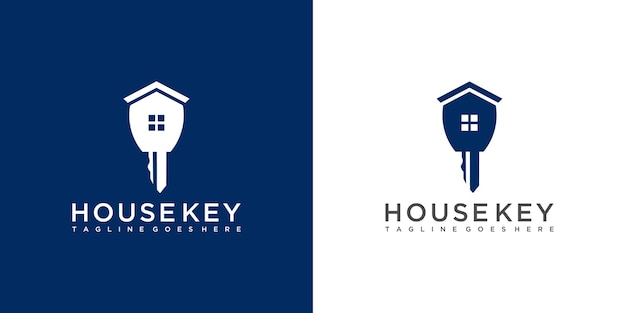 House key logo design