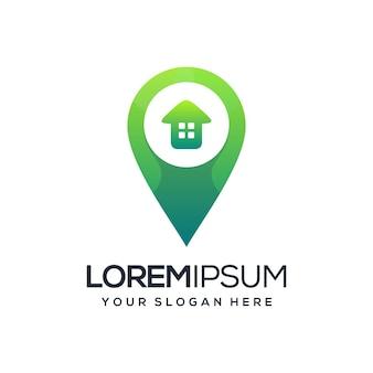 Логотип местоположения дома