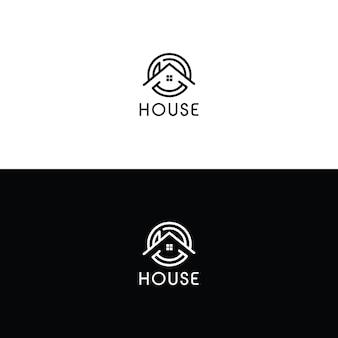 House logo design templete