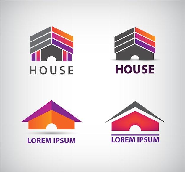 회사를위한 집 로고