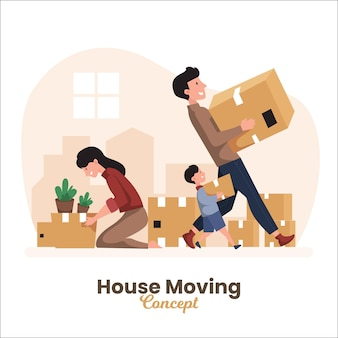 House moving concept