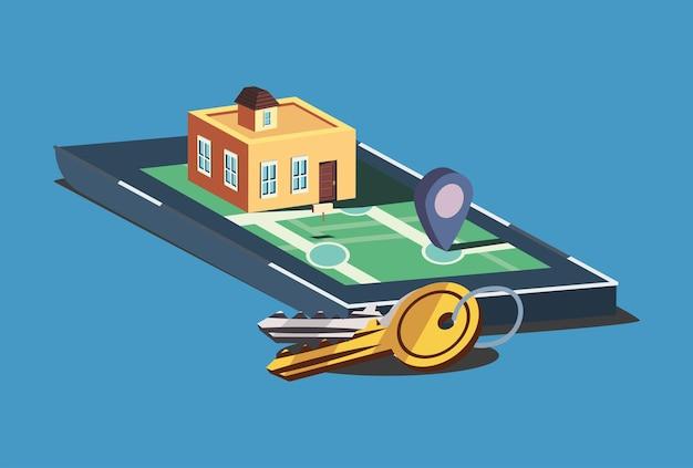 Дом на смартфоне и ключах