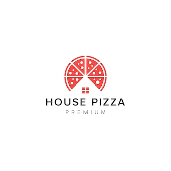 House pizza logo