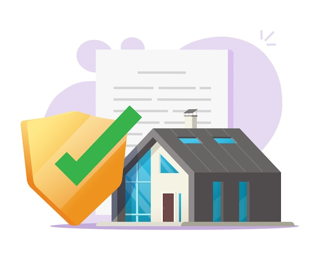 House protection safety contract concept