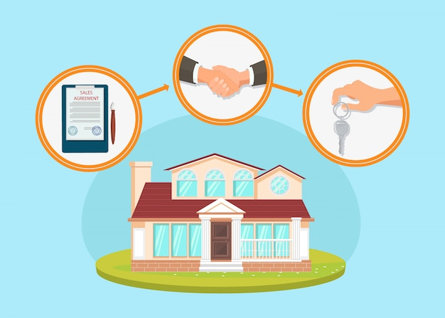 House purchase process flat