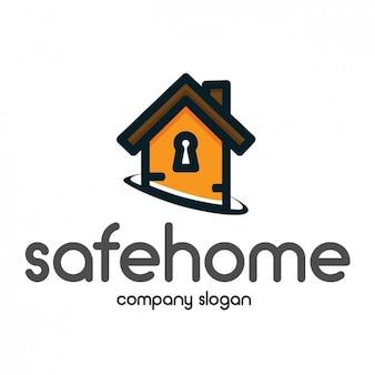 Дом шаблон формы логотипа