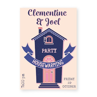 House warming party invitation theme