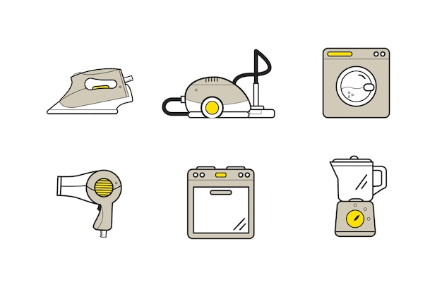 Household cooking cleaning devices