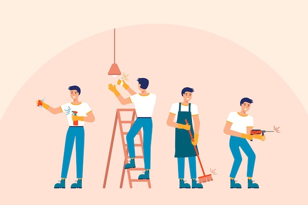 働く男性の家事