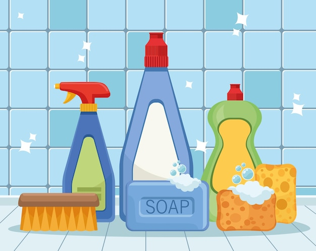 Housekeeping clean products
