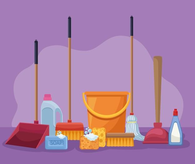 ハウスキーピング製品とツール