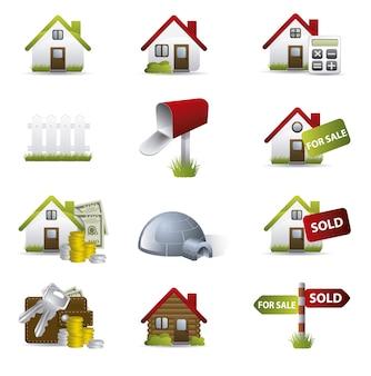 Houses icon collecti