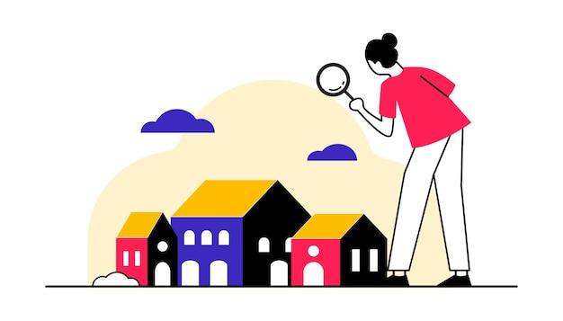 住宅検索位置ベクトル