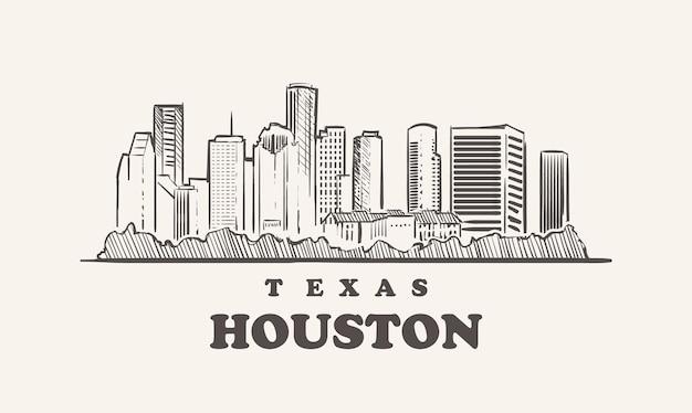 Houston skyline,texas
