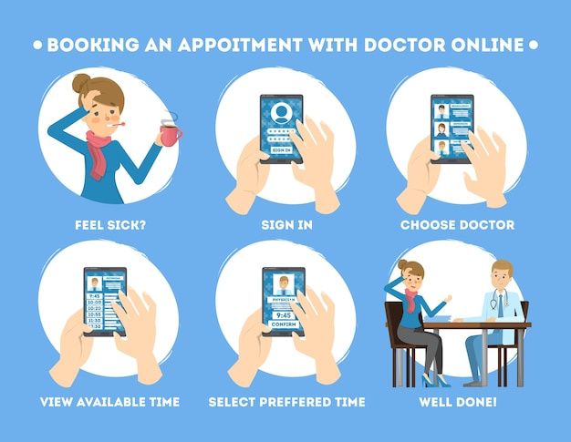 How to get consultation with a doctor using mobile phone