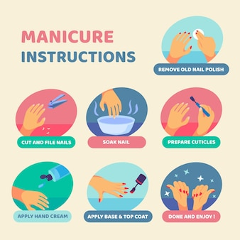 Come fare la manicure a casa