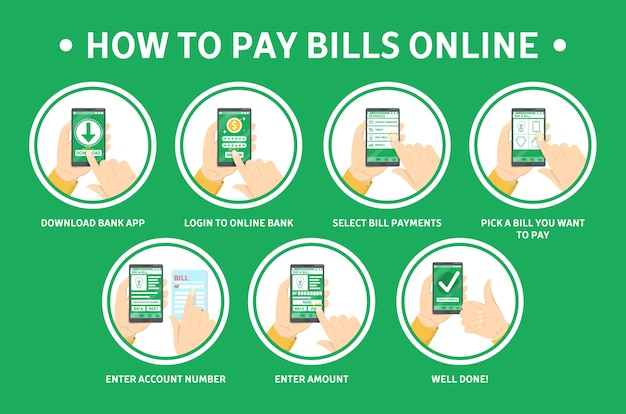 How to pay bills online using smartphone