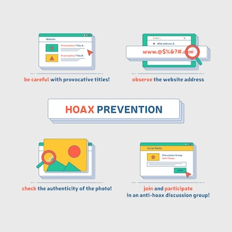 How to prevent hoax