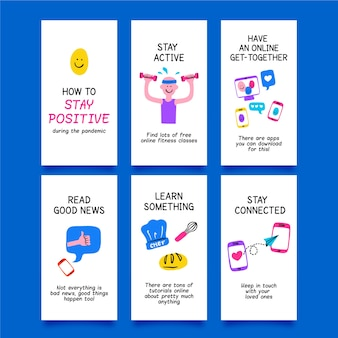 How to stay positive during the coronavirus instagram posts