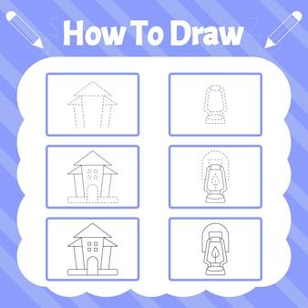Как нарисовать. практика рисования предметов на хэллоуин
