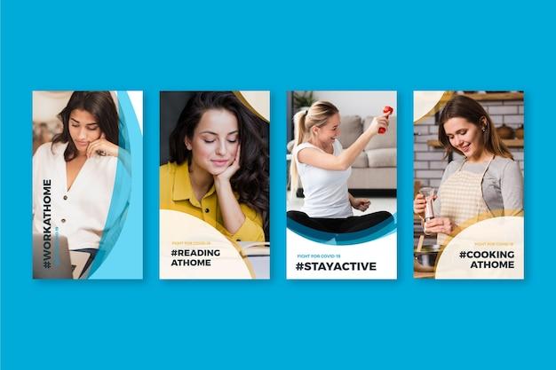 코로나 바이러스 인스 타 그램에서 긍정적 인 자세를 유지하는 방법