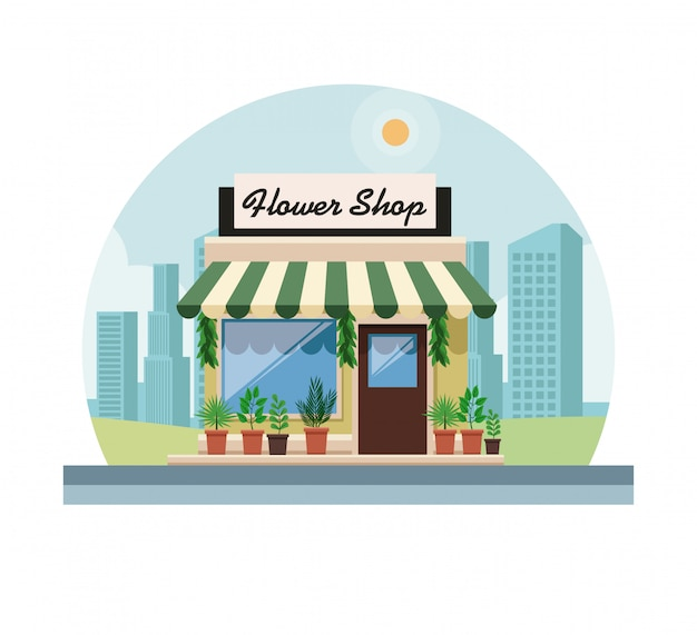 Hower shop store