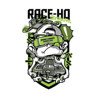 レース -  hq