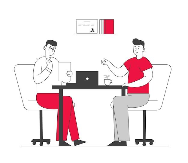 인터뷰 및 취업을위한 시간 부서 직원 독서 후보 이력서