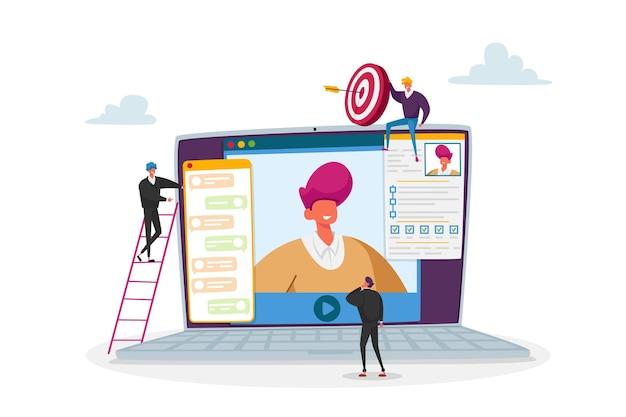 Менеджер по персоналу прочитать резюме кандидата проведение собеседования онлайн через интернет