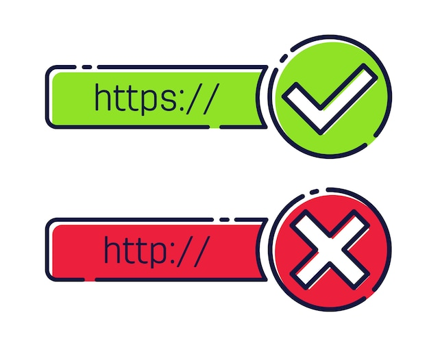 Http, https protocol connection ssl encryption.
