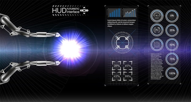 Hud display space.