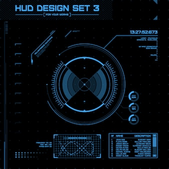 Hud and gui set
