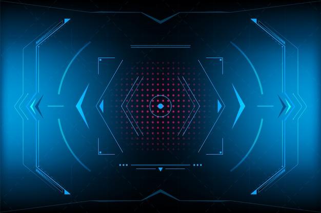 Hud panel vr user interface