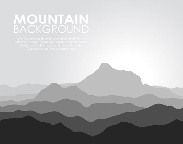 巨大な山脈