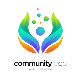 Дизайн логотипа здоровья человека