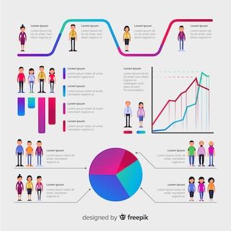 Human infographic