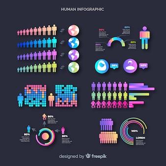 Человеческая инфографика